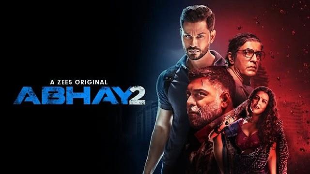 Abhay 2 (2020) Zee 5 Hindi (S02 E01- E07) 720p WEBRip x264 AAC