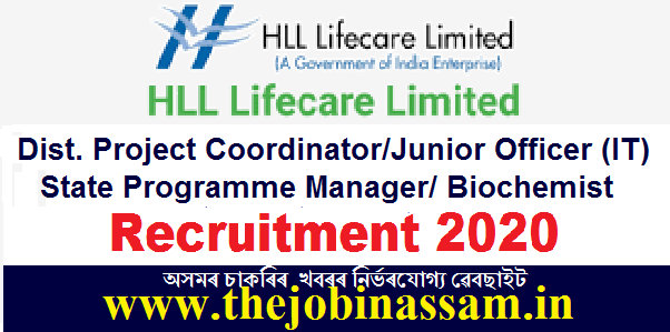 HLL Lifecare Limited Recruitment 2020