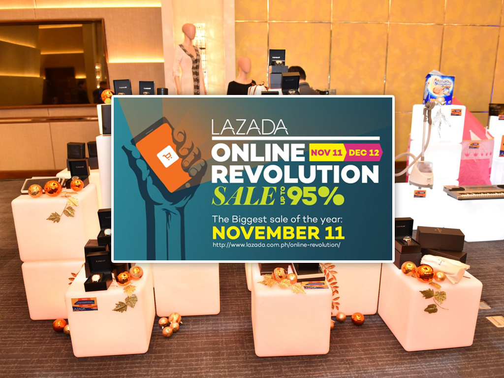 Lazada Online Revolution, Sale up to 95%!