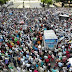Miles de personas se manifiestan cerca del Congreso contra eventual reforma