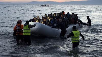 Krisis Migran - penjaga Turki 'migran hit di perahu'