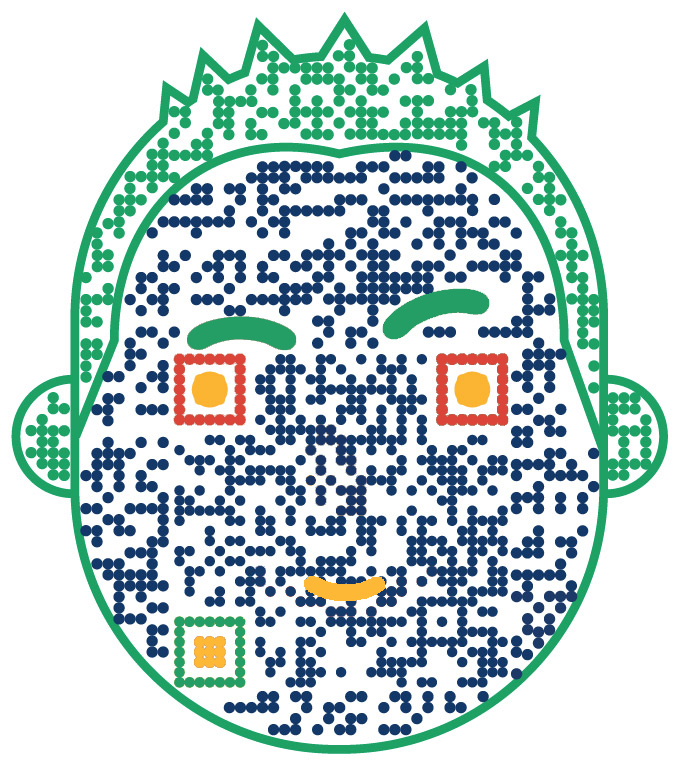 Got a QR Scanner? Follow Imran Sq
