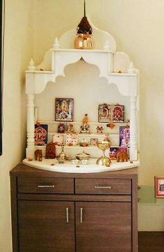 Latest Wooden Pooja Mandir Designs For Home Office And Commercial Places