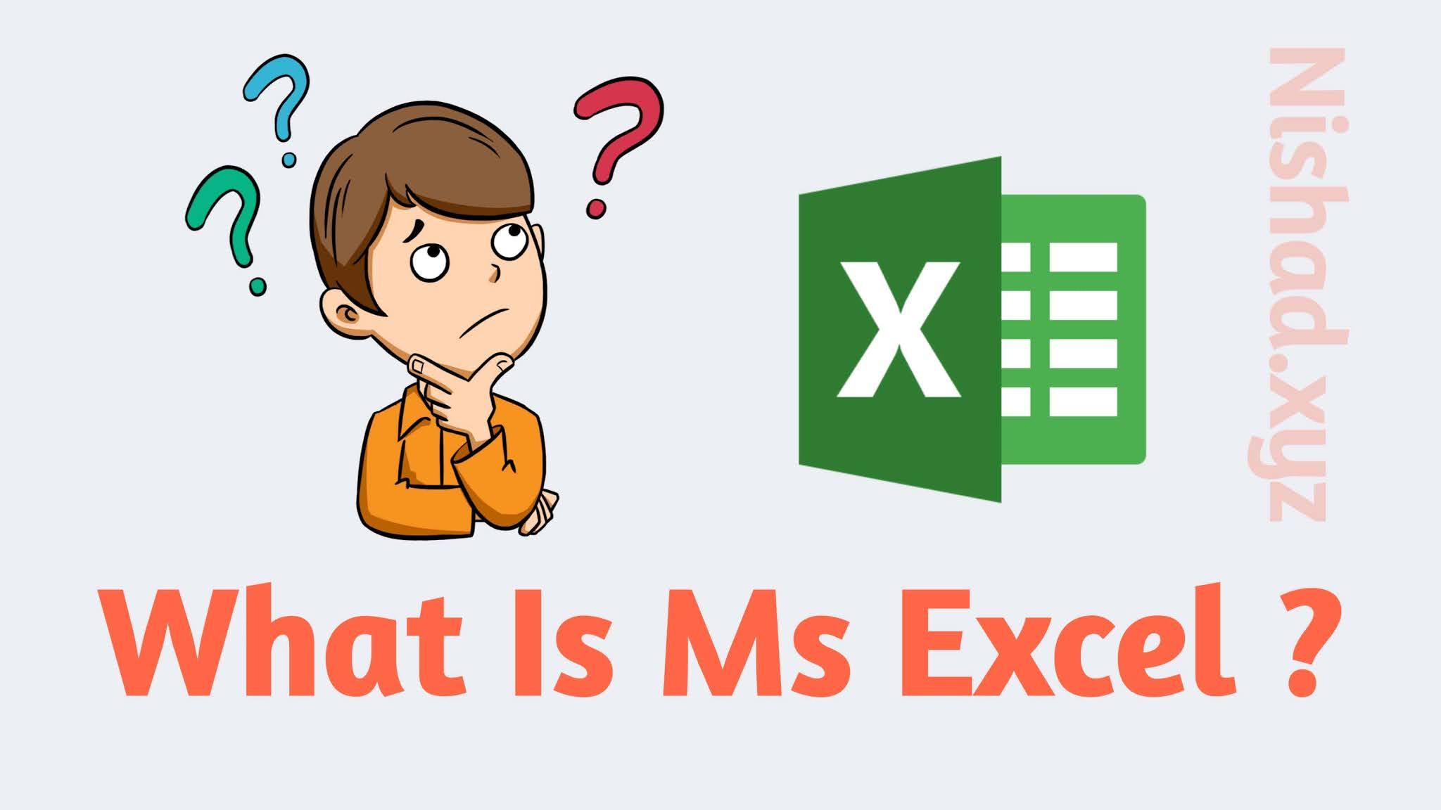 Ms Excel kya hota hai ?