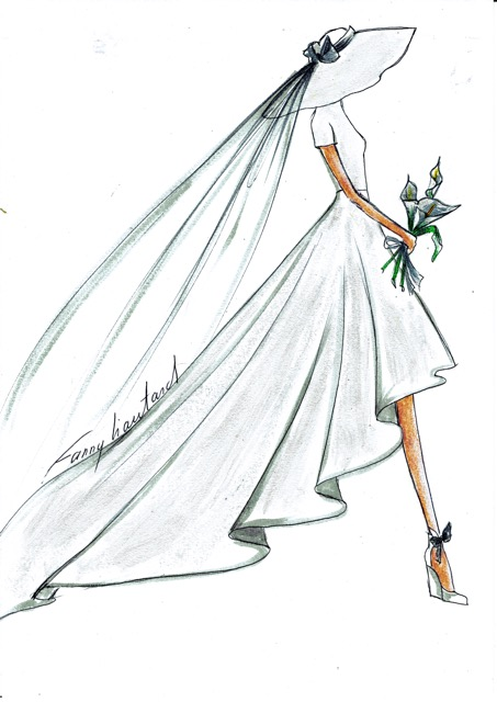 Fanny Liautard Robe De Mariee Ceremonie Soir Cocktail Tailleur Sur