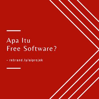 cover Apa Itu Free Software