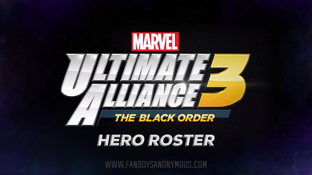 Marvel Ultimate Alliance 3 playable characters superhero list