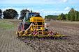 Massey Ferguson 7626 Dyna 6 - Fendt 718 & Claydon Hybrid Seed Drill