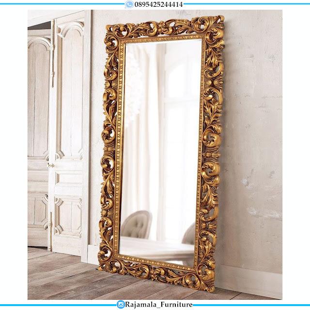 Cermin Mewah Ukiran Jepara Luxurious Model Terbaru RM-0397