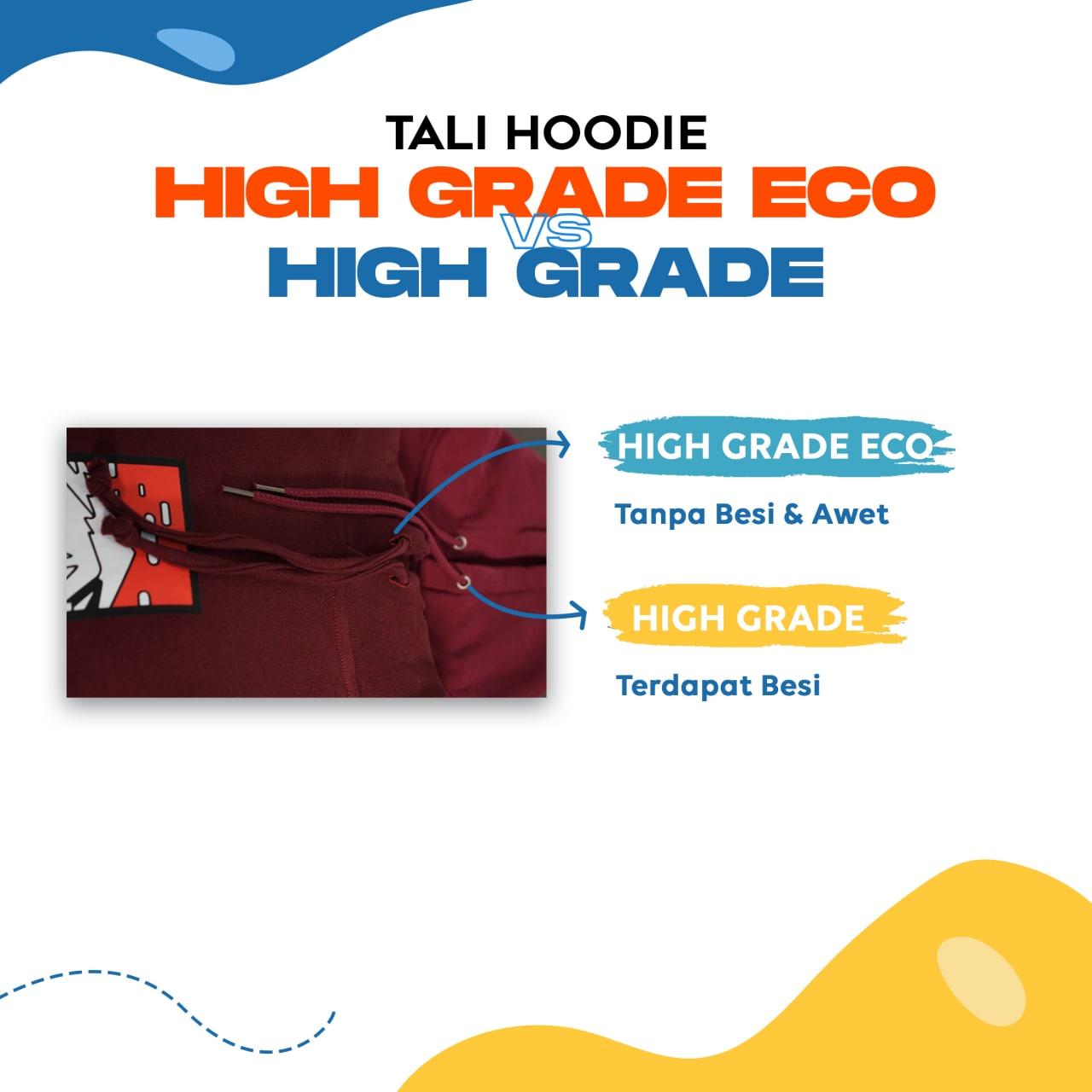 Spesifikasi Tali Hoodie