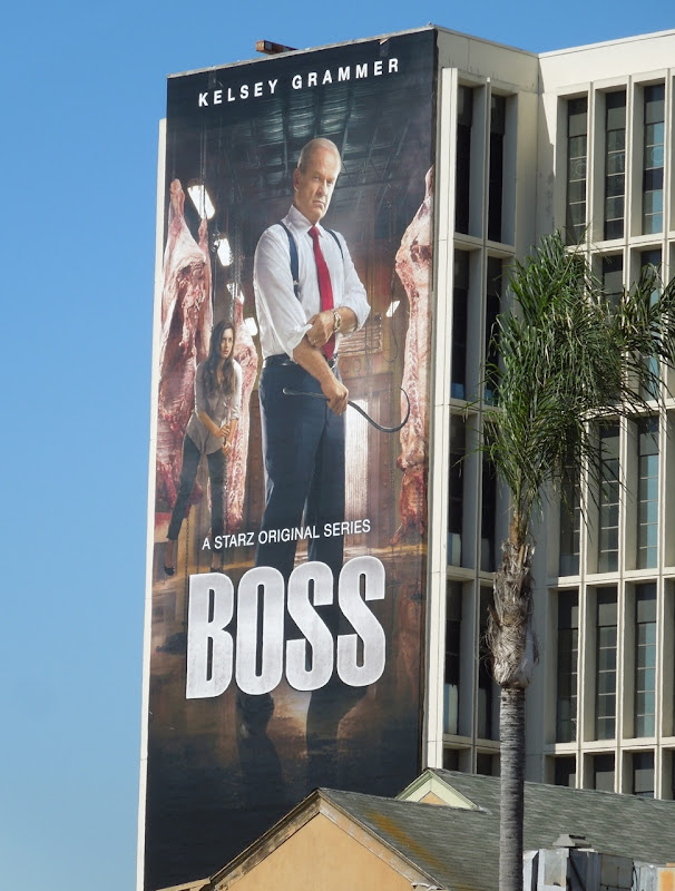 Giant Kelsey Grammer Boss season 2 billboard