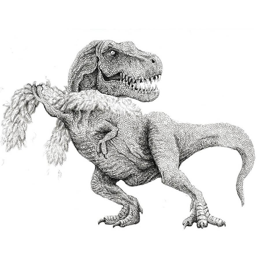 08-A-dinosaur-with-style-Tim-Andraka-www-designstack-co