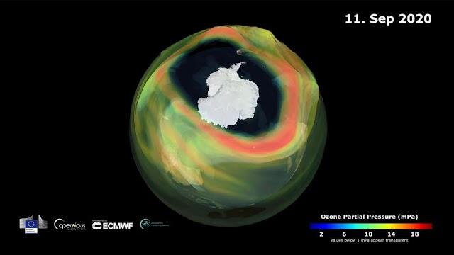 Η τρύπα στο στρώμα του όζοντος είναι η μεγαλύτερη στην τελευταία δεκαετία