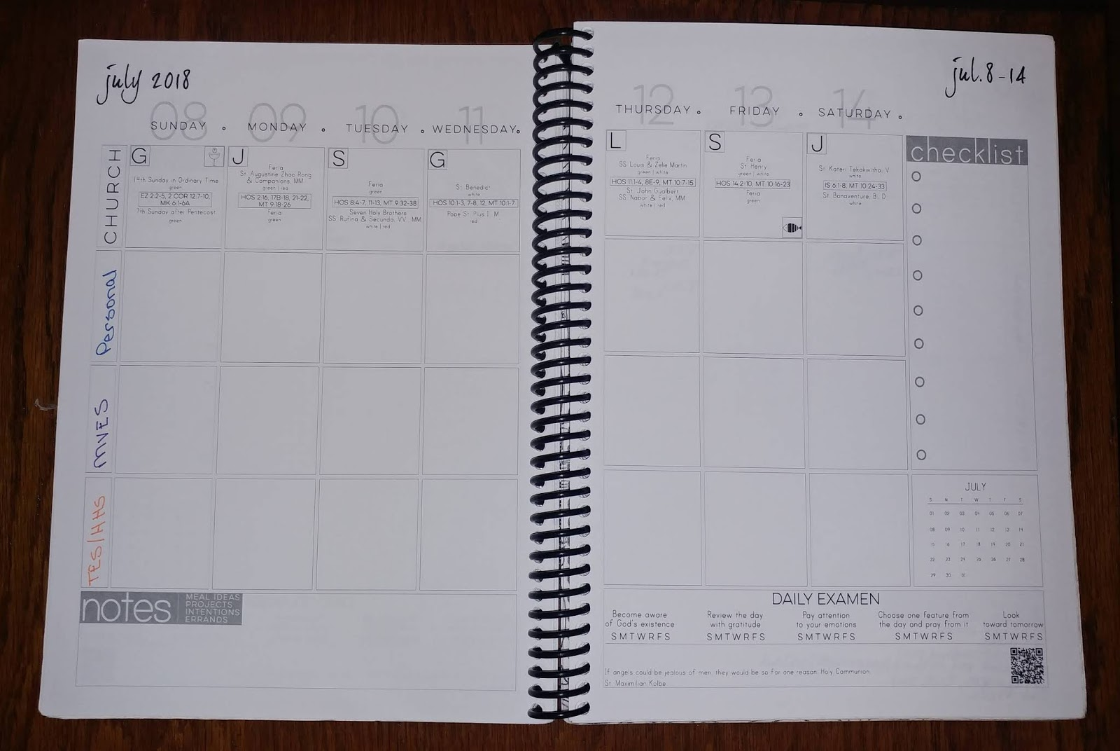 I Have a Winner in the Catholic Planner Debate   The Not-So-Perfect