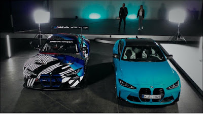 BMW M4 و BMW M4 GT3