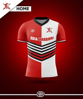 Abia warriors home jersey