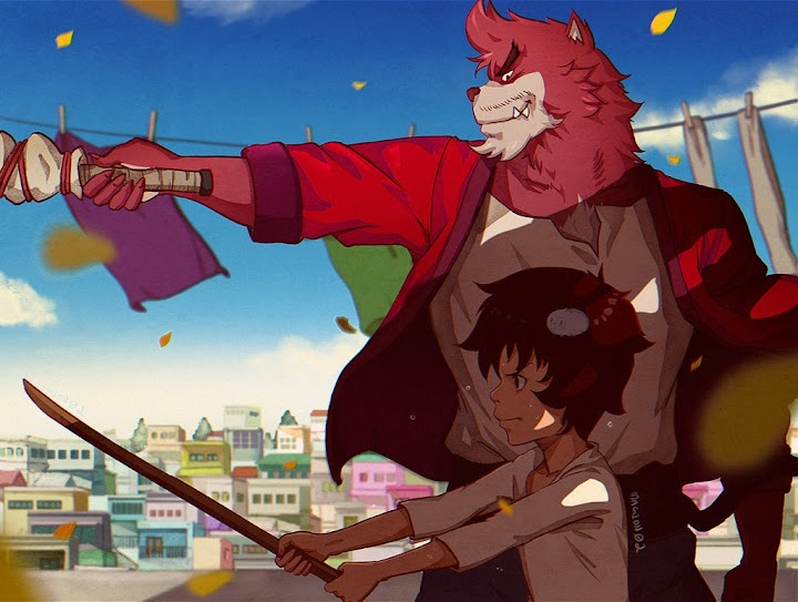 Bakemono no Ko Movie Subtitle Indonesia