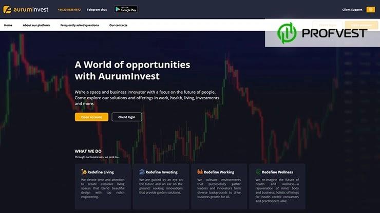 Обновление маркетинга в AurumInvest