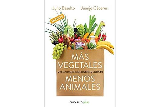 Una caja con vegetales y frutas