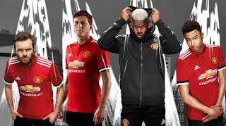 Manchester United Rilis Jersey Kandang Baru 2017-2018