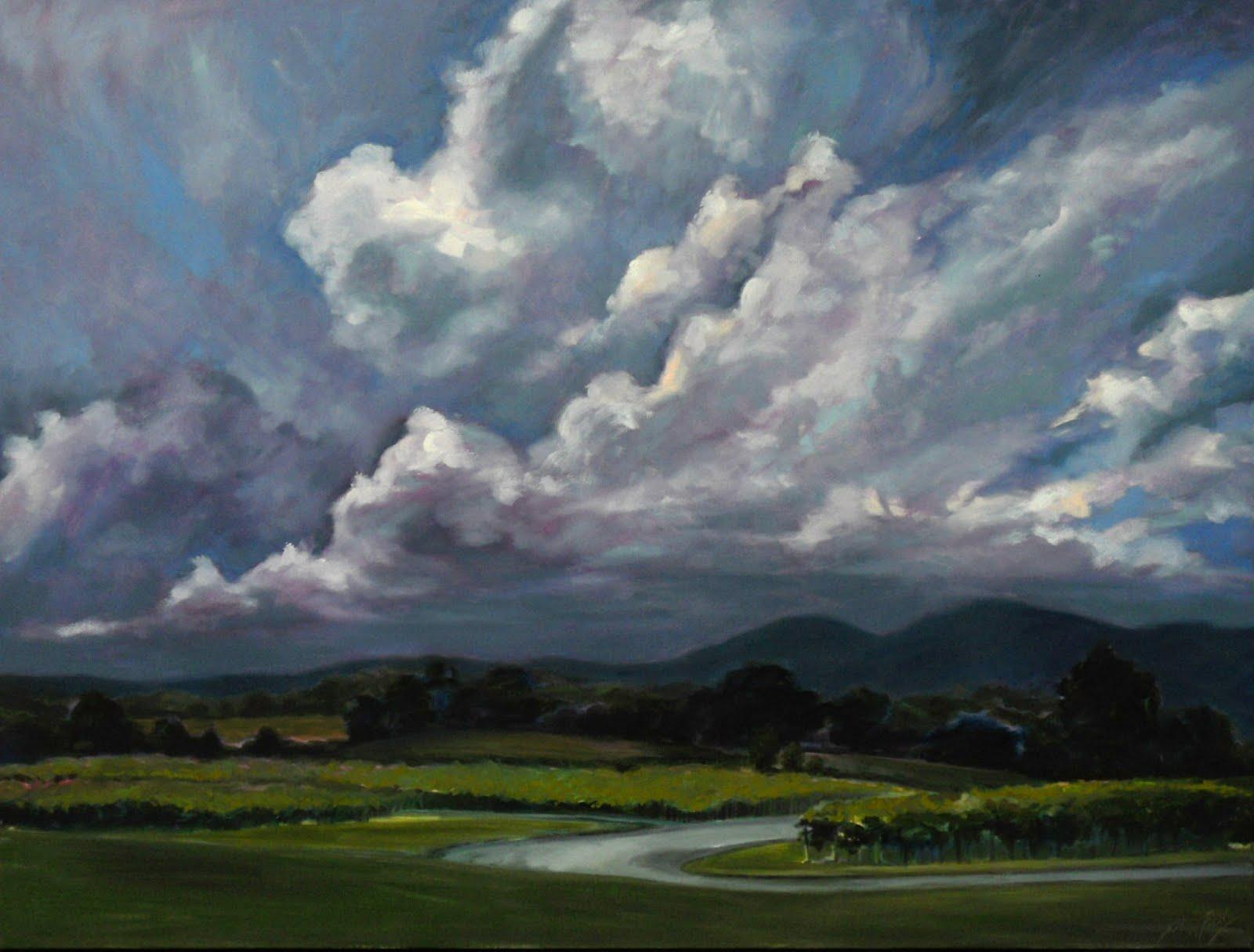 East Coast Artist Raffaldini Vineyard Thunderstorm
