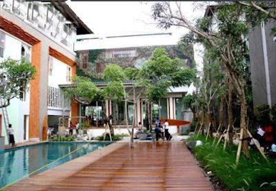 tukang taman surabaya, desain taman surabaya, jasa taman, kolam