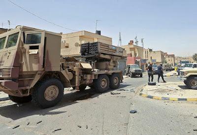 Libya arms blockade