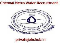 Chennai Metro Water Recruitment
