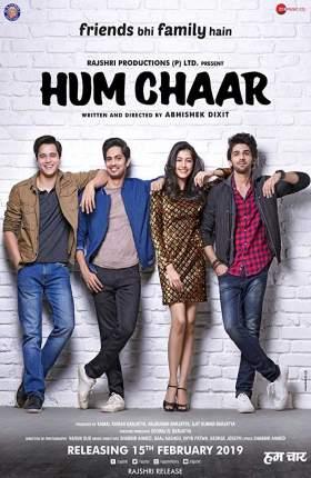 Hum chaar 2019 Hindi 350MB WEB-DL 480p Free Download