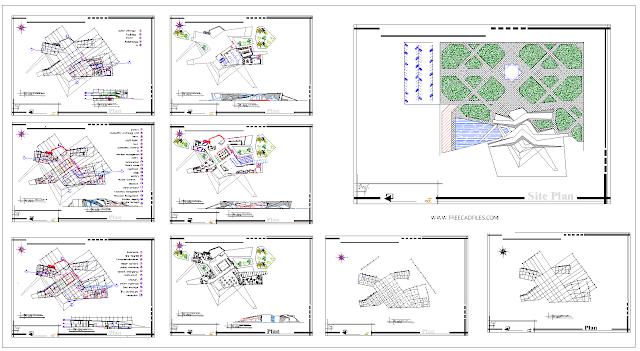 Train Station Plans DWG