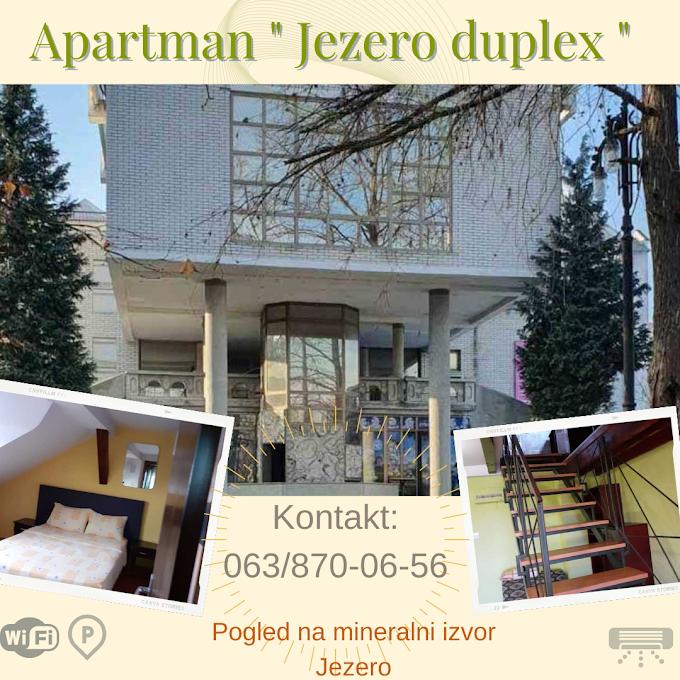 Apartman Jezero Duplex