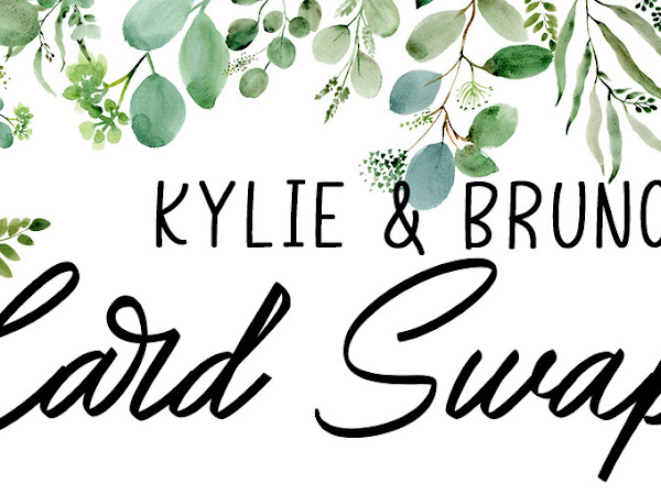 Kylie and Bruno's Card Swap with Stampin' Up!® Products - Australia Only