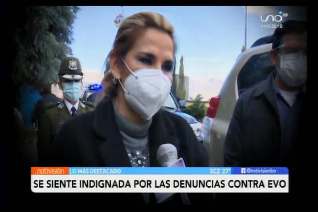 Presidenta Áñez: Acusación de estupro contra Evo avergüenza a Bolivia en ámbitos internacionales