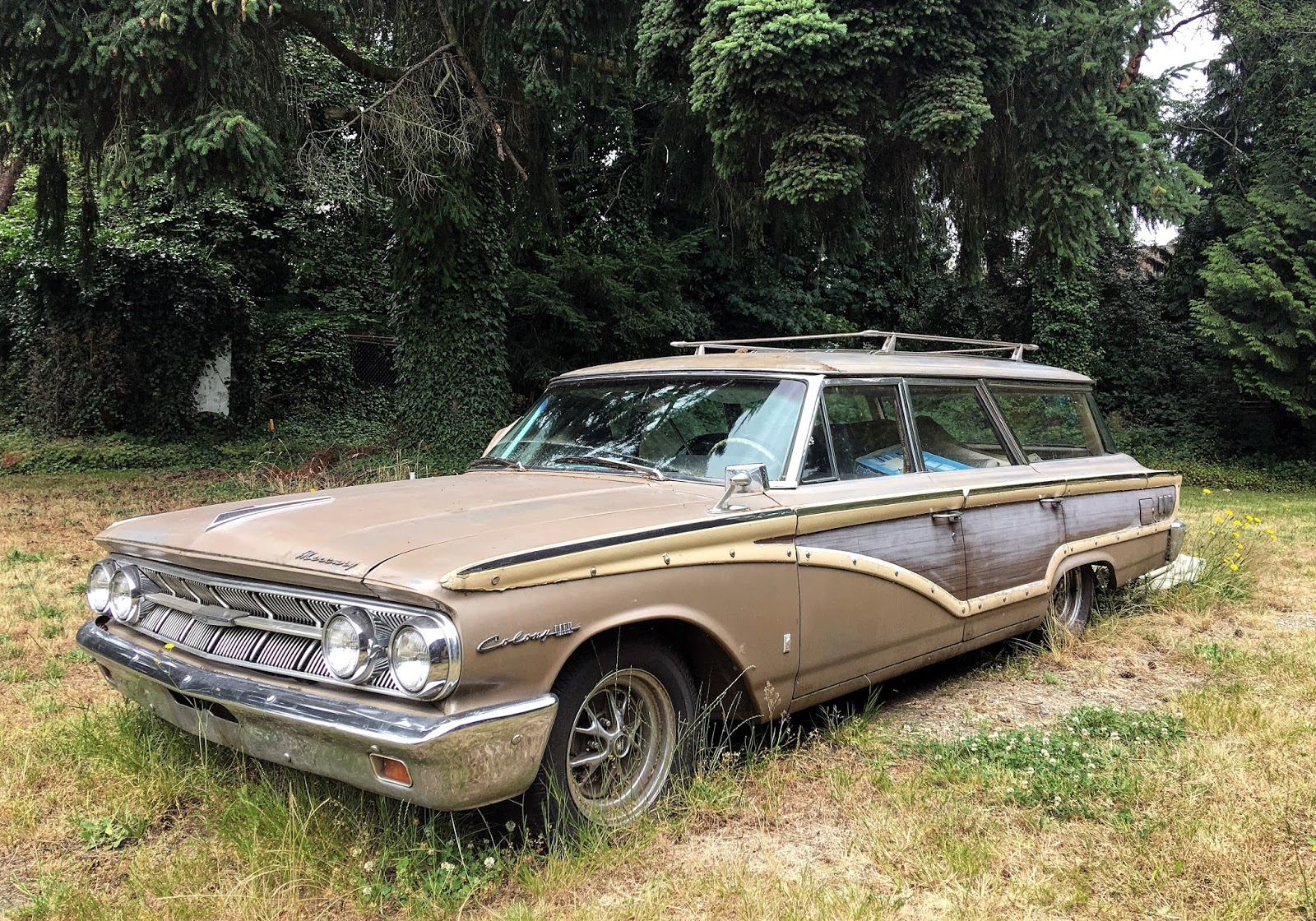 Seattle's Classics: 1963 Mercury Monterey Colony Park ...