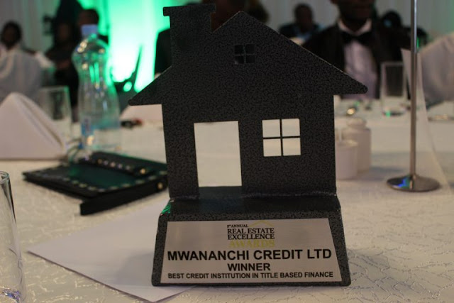 Mwananchi Credit Winner in Title Financing- Real Estate Excellency Awards