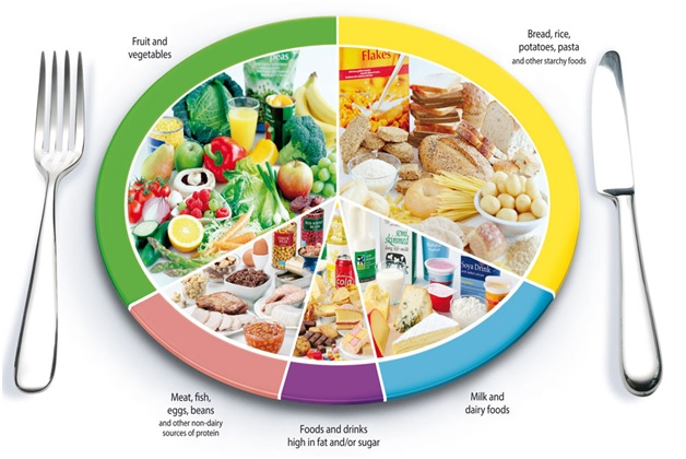 Balance Food Intake from Different Food Groups