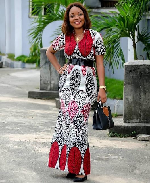 The 20 Best of Owambe Aso Ebi Dresses 9