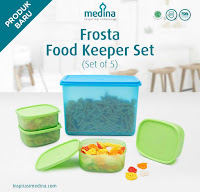 Dusdusan Frosta Food Keeper Set (Set of 5) ANDHIMIND