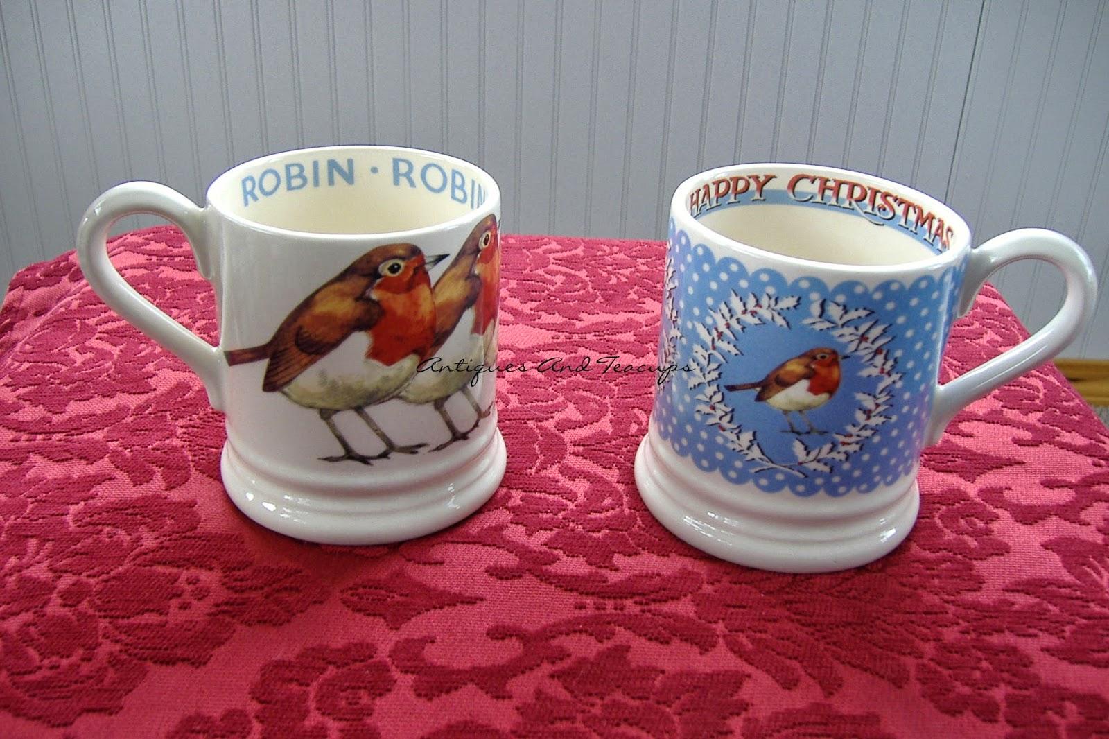 Antiques And Teacups: Tuesday Cuppa Tea, English Robins ...