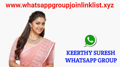 Keerthy Suresh Whatsapp Group Join Link List, Keerthy Suresh whatsapp group, Keerthy Sureshwhatsapp group link, Keerthy Suresh whatsapp group join link, Keerthy Suresh fans whatsapp group link, Keerthy Suresh whatsapp group number, Actress Keerthy Suresh whatsapp group join link, Keerthy Suresh whatsapp group link india