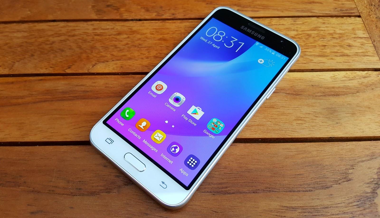 Prima carica Samsung Galaxy J3