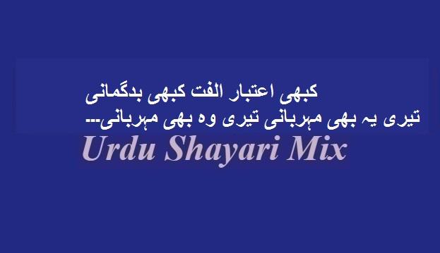 Kabhi aetbaar ulfat | Sad poetry | Urdu sad poetry