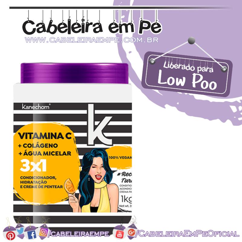 3 em 1 Vitamina C - Kanechom (Low Poo)