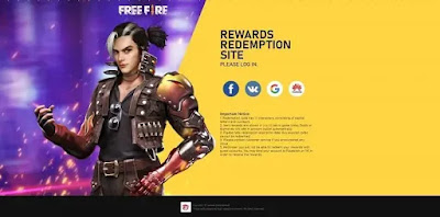 طريقة استرداد اكواد فري فاير المجانية (redeem free fire reward code)