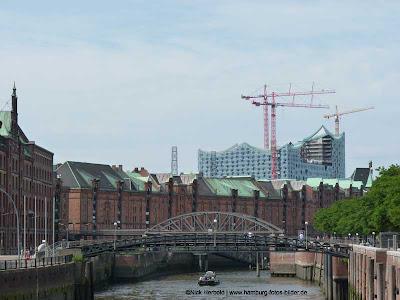 Speicherstadt und Elbphilharmonie Hamburg, Alte und Neue Architektur