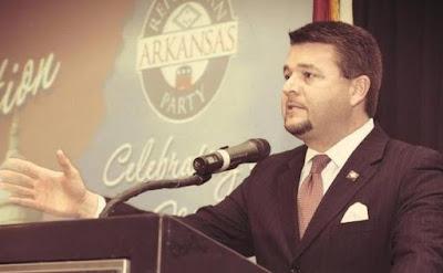 Republican State Sen. Jason Rapert, sponsor of the Arkansas Human Life Protection Act