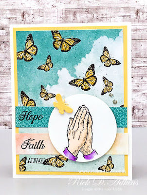 His Love Stamp Set, Click to learn how I used this stamp set to create my card for this week's sketch challenge at the Spot.