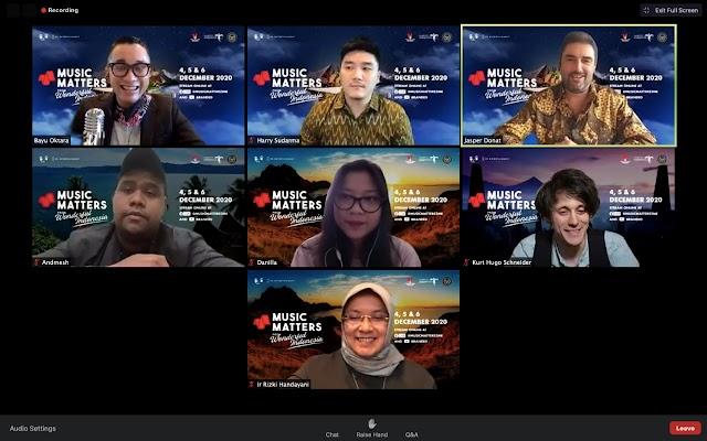 Event skala Internasional Music Matters hadir di indonesia