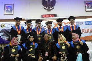 Penerima Beasiswa OKI Pulp Berhasil Selesaikan Studi di ATPK Bandung