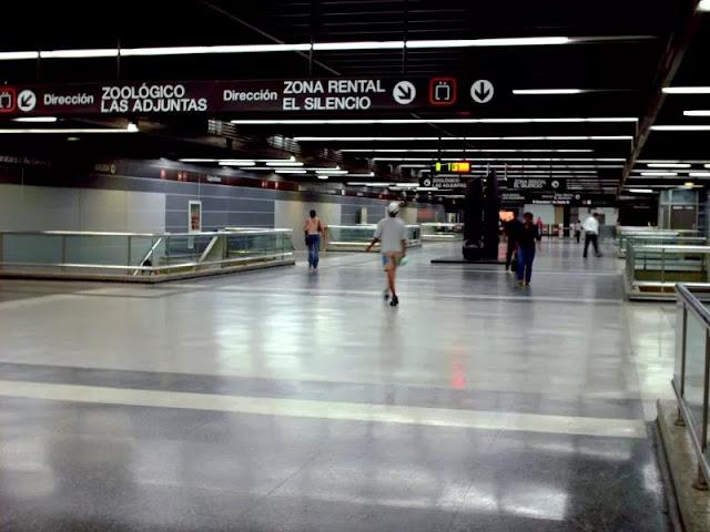 Falla de energía deja sin funcionamiento línea 2 del metro de Caracas este #27Ago